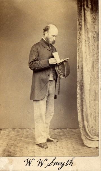 W.W. Smyth. [Photograph] [Portrait]