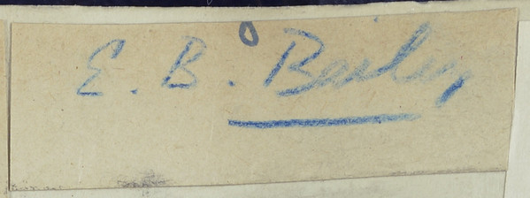 Signature: Edward Battersby Bailey