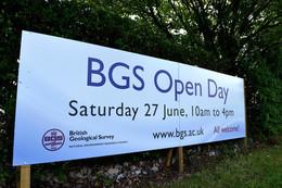 BGS Open day, Keyworth, 27th June 2015.